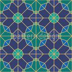 Konstellationen Nahtloses Vektor Muster