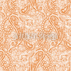 Paisley Foam Seamless Vector Pattern Design