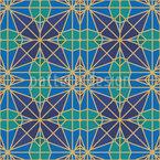 Mystische Geometrie Vektor Design