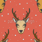 Roebuck Vector Ornament