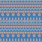 Geometrische Stammes-Streifen Vektor Design