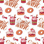Sweet Dessert Pattern Design