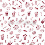 More Sweets Seamless Vector Pattern Design