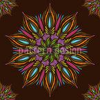 Modernes Mystisches Mandala Vektor Ornament
