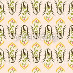 Gloriosa Seamless Vector Pattern Design