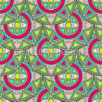 Mandala Circles Repeating Pattern