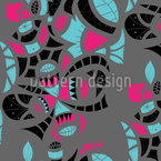 Tribal Elements Seamless Vector Pattern Design