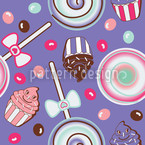 Cookidoo Purple Vector Pattern
