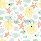 Baby Sea World Pattern Design