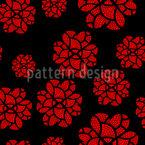 Deckchen Blumen Vektor Ornament