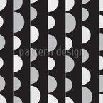 のぞき半円 シームレスなベクトルパターン設計
