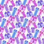 Alle Arten Von Geschenk-Boxen Nahtloses Vektormuster