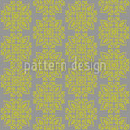Turkish Ornaments Seamless Vector Pattern Design