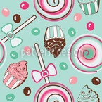 Cookidoo Mint Repeating Pattern