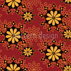Antique Doily Seamless Vector Pattern Design