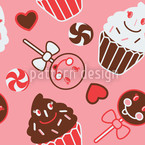 Sweet Nothing Seamless Vector Pattern Design