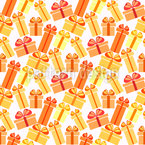 Sunny Gift Boxes Seamless Vector Pattern Design