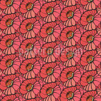 Lollipop Blossoms Seamless Vector Pattern Design
