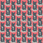 Great Dane Silhouettes Pattern Design