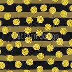Pinsel Streifen Und Reich Verzierte Punkte Nahtloses Muster