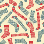 Christmas Socks Design Pattern