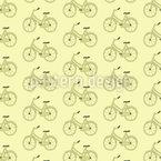 Oldtimer Fahrrad Nahtloses Vektormuster