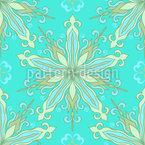 Sterne Verliebt in Blumen Muster Design