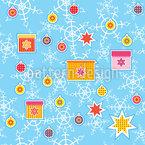 Weihnachtsbaum Dekoration Nahtloses Muster