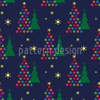 A Very Funky Christmas Vector Pattern
