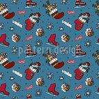 Weihnachts Eislaufen Vektor Design