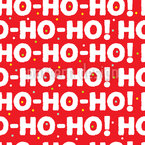Der Weihnachtsmann Ist Da Nahtloses Vektormuster