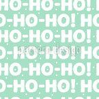 Ich Hör Den Weihnachtsmann Nahtloses Vektormuster