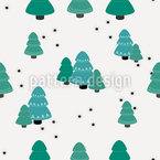 Niedliche Winter Bäume Rapport