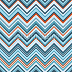 Varied Chevron Seamless Vector Pattern Design