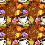 Coffee Break Seamless Vector Pattern Design