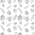 Muschel Sammler Vektor Ornament