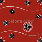 Dream Tracks Seamless Vector Pattern Design