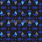 Crystal Tears Seamless Vector Pattern Design