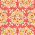 Geometrische und Florale Ornamente Vektor Design