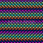 波テクスチャ シームレスなベクトルパターン設計