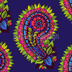 Flower Paisley For You Vector Pattern