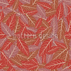 Layers Of Leaves Seamless Pattern
