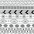 Trendy Tribal Stripes Vector Design