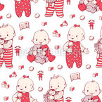 We Love You Seamless Pattern