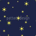 Glänzende Dunkelheit Musterdesign