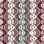 Between Waves Seamless Vector Pattern Design