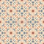 Floral Renaissance Seamless Vector Pattern Design