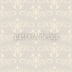 Cinderella Silver Repeat Pattern
