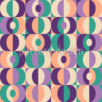 Back From The Sixties Seamless Vector Pattern Design
