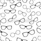 Brillen Kollektion Vektor Muster